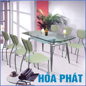 Bộ bàn ghế ăn B52+G52 của Hòa Phát